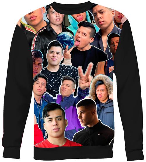 Spencer X (Spencer Knight) Collage Sweater Sweatshirt