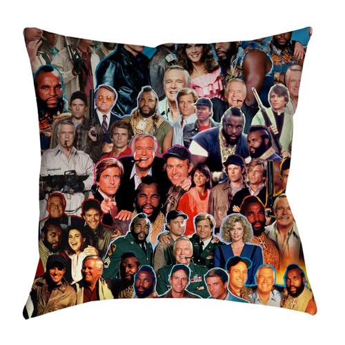 The A-Team Photo Collage Pillowcase