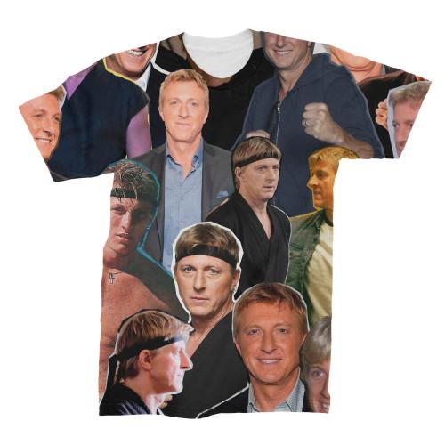 William Zabka Photo Collage T-Shirt