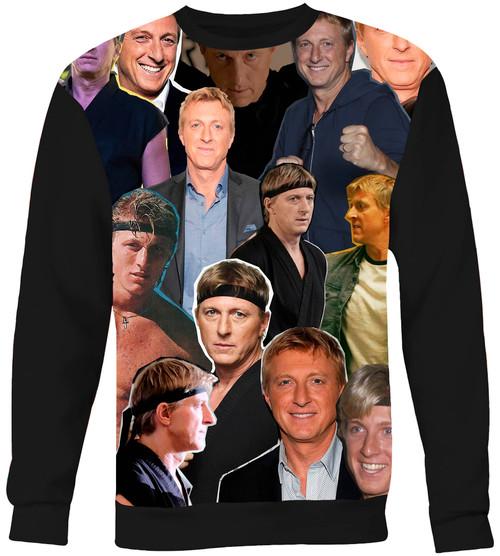 William Zabka Collage Sweater Sweatshirt