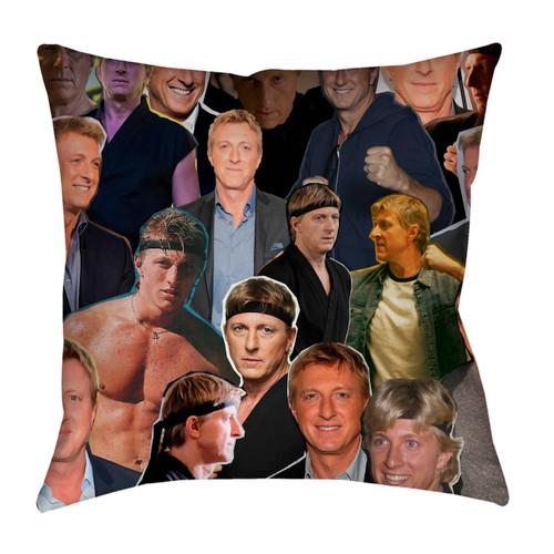 William Zabka Photo Collage Pillowcase