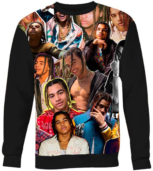 24kGoldn Collage Sweater Sweatshirt