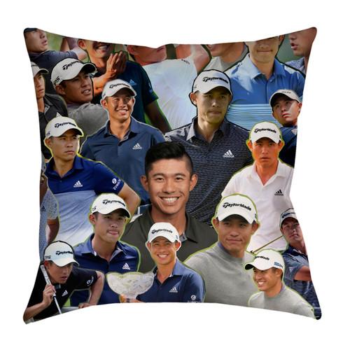 Collin Morikawa Photo Collage Pillowcase