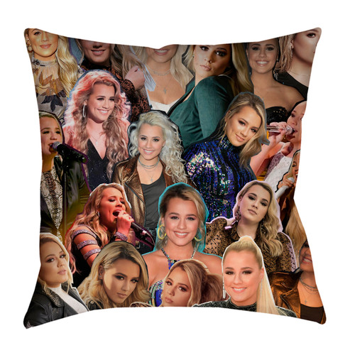 Gabby Barrett Photo Collage Pillowcase