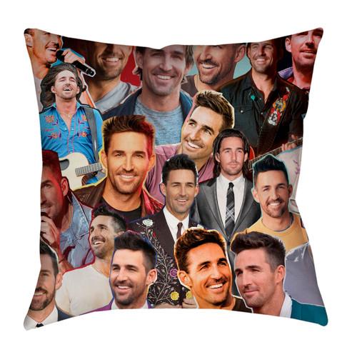 Jake Owen Photo Collage Pillowcase
