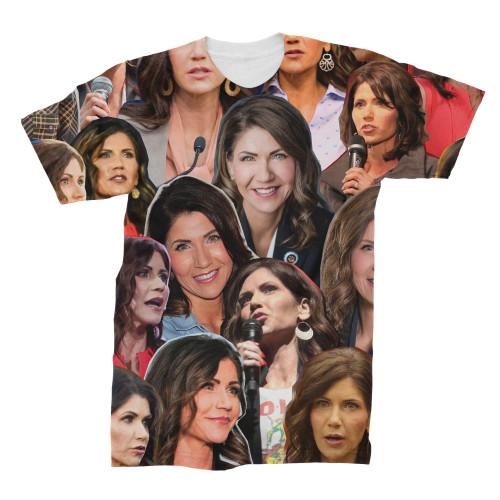 Kristi Noem Photo Collage T-Shirt