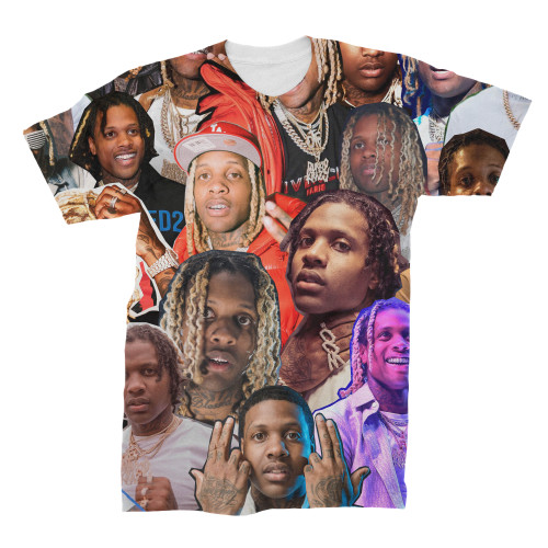 Lil Durk Photo Collage T-Shirt