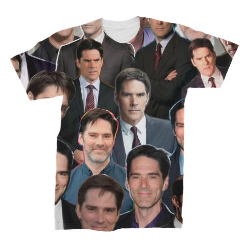 Thomas Gibson Photo Collage T-Shirt