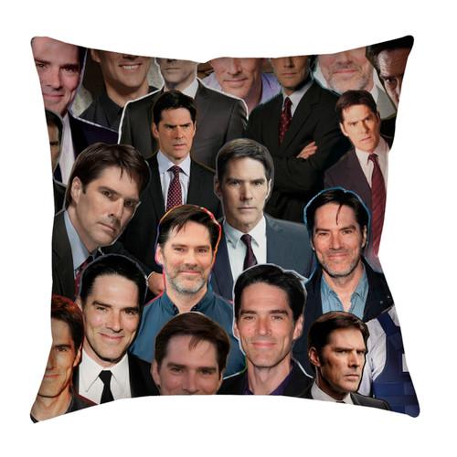 Thomas Gibson Photo Collage Pillowcase