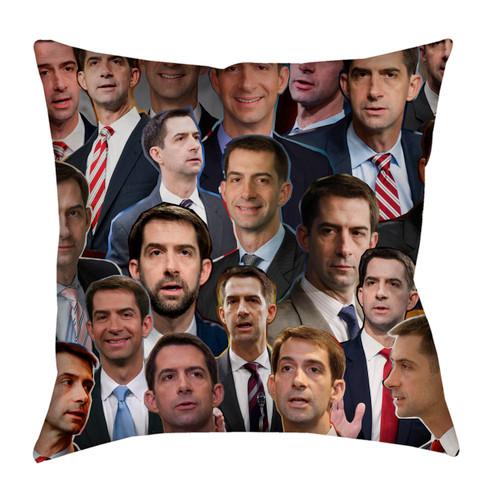 Tom Cotton Photo Collage Pillowcase