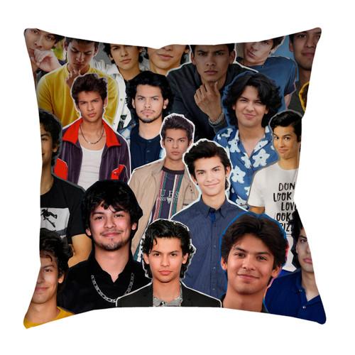 Xolo Maridueña Photo Collage Pillowcase