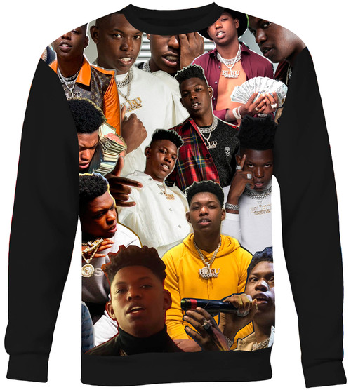 Yung Bleu Collage Sweater Sweatshirt