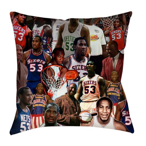 Darryl Dawkins Photo Collage Pillowcase