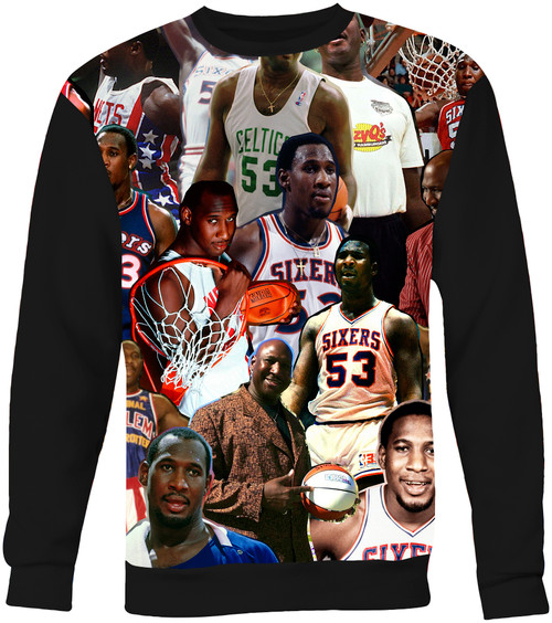 Darryl Dawkins Collage Sweater Sweatshirt