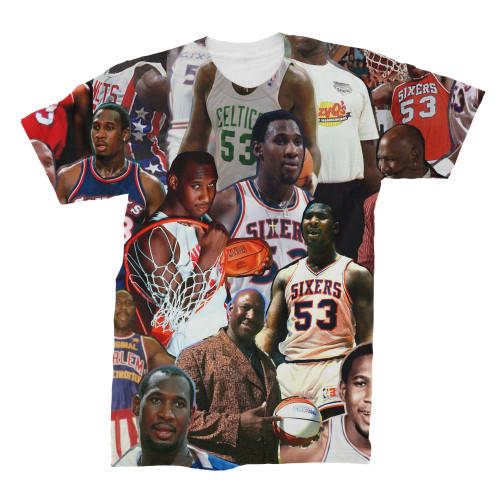 Darryl Dawkins Photo Collage T-Shirt