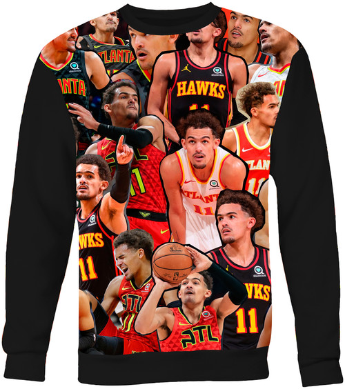 Trae Young Photo Collage Sweater Sweatshirt