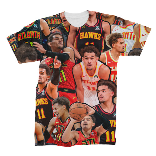 Trae Young  Photo Collage T-Shirt