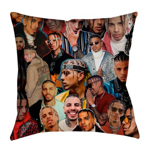 Rauw Alejandro Photo Collage Pillowcase