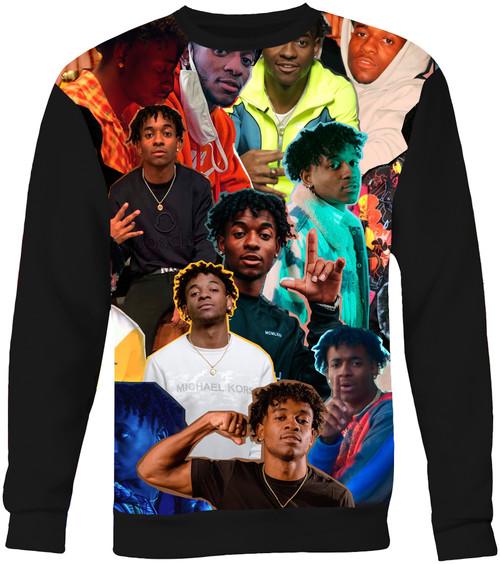 Mooski Photo Collage Sweater Sweatshirt