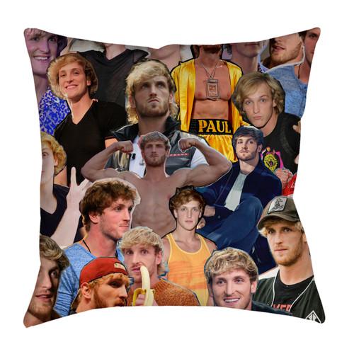 Logan Paul Photo Collage Pillowcase