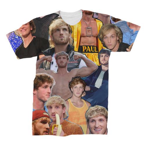 Logan Paul Photo Collage T-Shirt