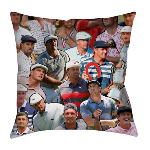Bryson DeChambeau Photo Collage Pillowcase
