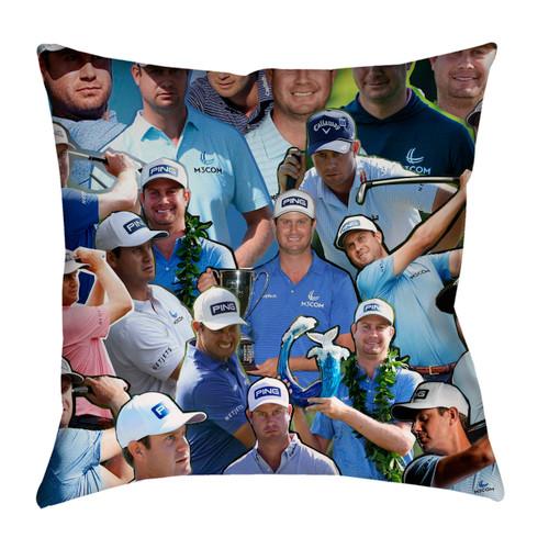 Harris English  Photo Collage Pillowcase