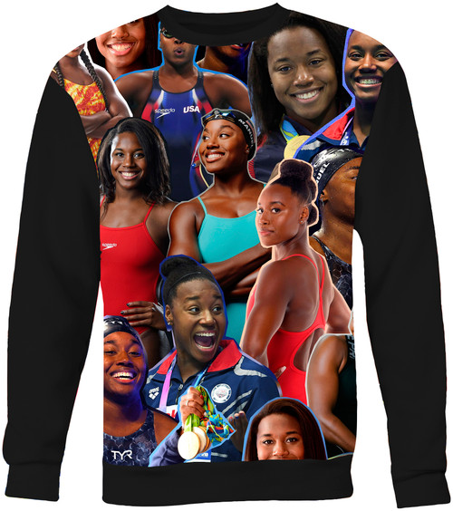 Simone Manuel Photo Collage Sweater Sweatshirt