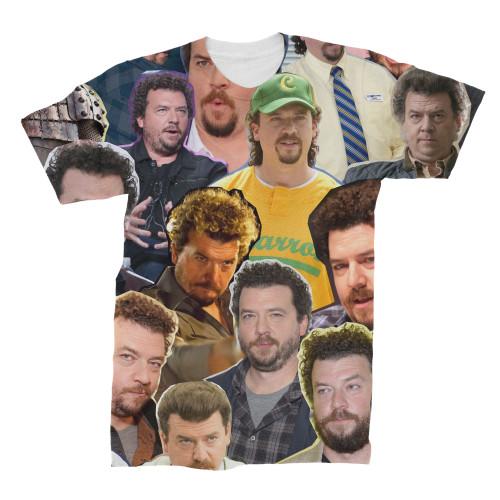 Danny Mcbride Photo Collage T-Shirt