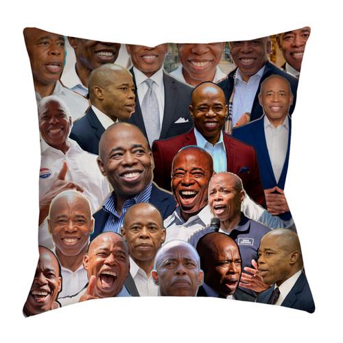 Eric Adams Photo Collage Pillowcase