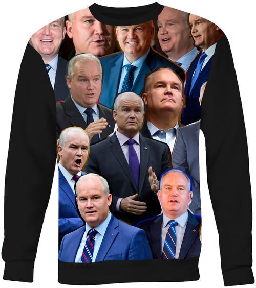 Erin O'Toole Photo Collage Sweater Sweatshirt