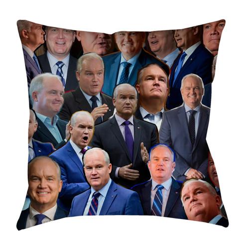 Erin O'Toole Photo Collage Pillowcase