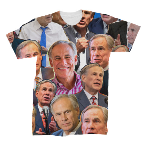 Greg Abbott Photo Collage T-Shirt