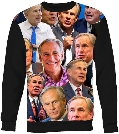 Greg Abbott Photo Collage Sweater Sweatshirt