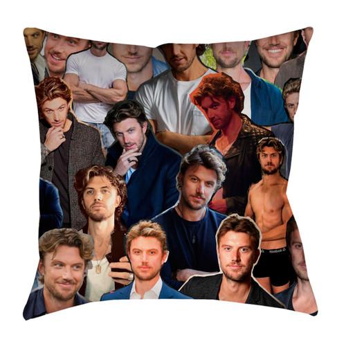 Adam Demos Photo Collage Pillowcase