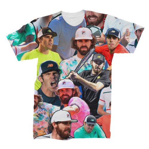 Reilly Opelka Photo Collage T-Shirt bank