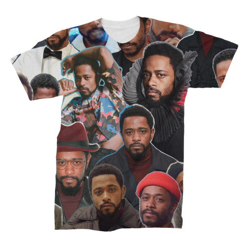 Lakeith Stanfield Photo Collage T-Shirt