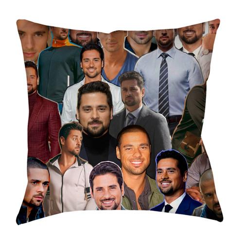 JR Ramirez  Photo Collage Pillowcase