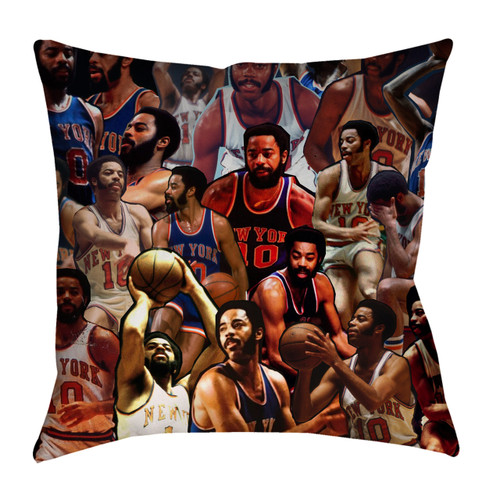 Walt Frazier Photo Collage Pillowcase