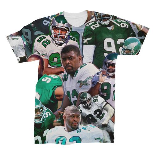 Reggie White Photo Collage T-Shirt front