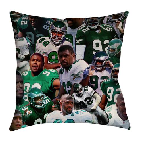 Reggie White Photo Collage Pillowcase