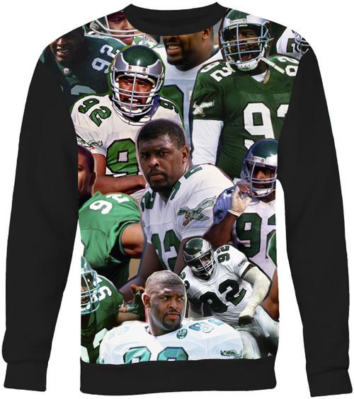 Reggie White Photo Collage Sweater Sweatshirt
