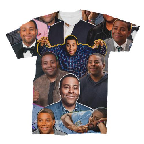 Kenan Thompson Photo Collage T-Shirt Front