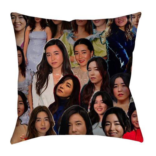 Maya Erskine Photo Collage Pillowcase