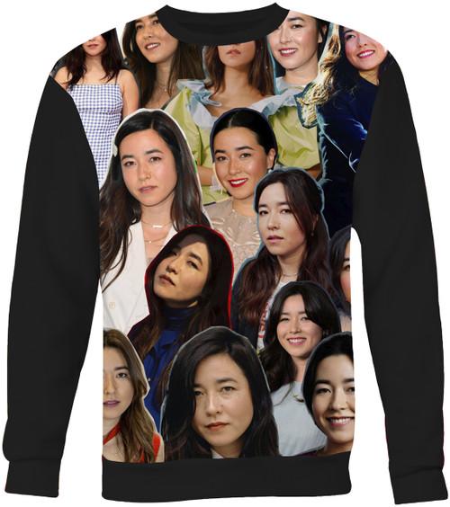 Maya Erskine Photo Collage Sweater Sweatshirt