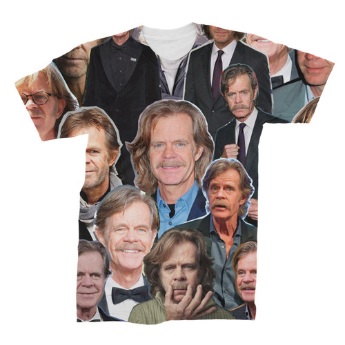 William H. Macy  Photo Collage T-Shirt Front