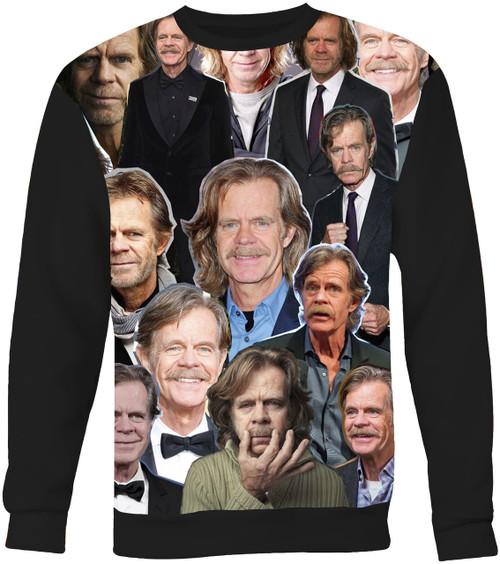 William H. Macy Collage Sweater Sweatshirt