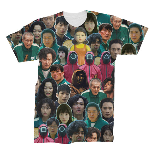 Squid Game Collage T-Shirt