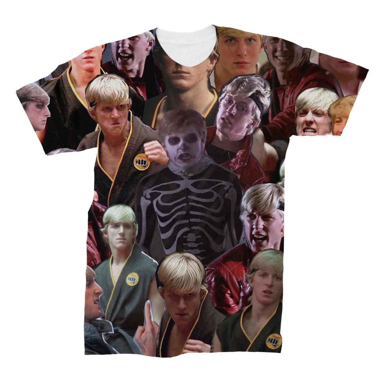 Daniel LaRusso Karate Kid Photo Collage T-Shirt