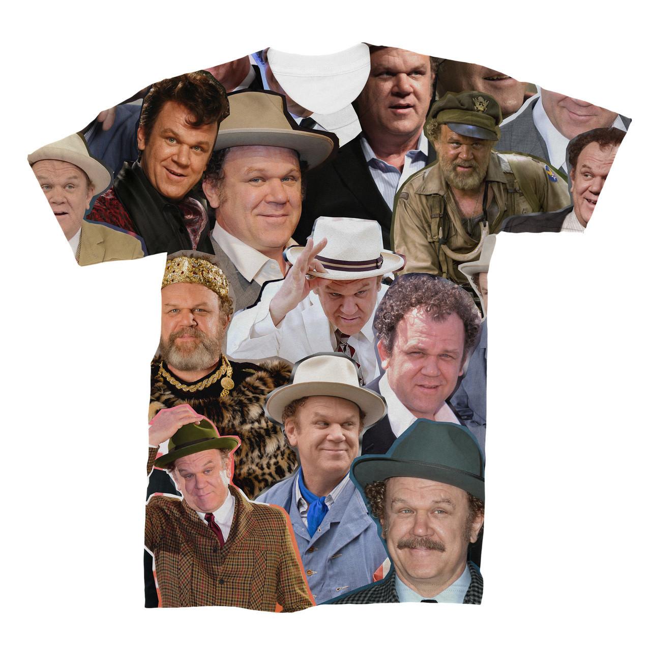 e341655e2c717f John C. Reilly Photo Collage T-Shirt - Subliworks